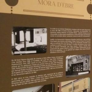 Imatges de l'exposició «Aquelles tardes... 120 anys de cine a les Terres de l'Ebre»